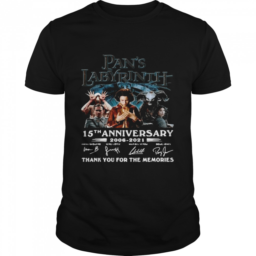 Great Labyrinth 15th Anniversary Thank You For The Memories Signatures  Classic Men's T-shirt