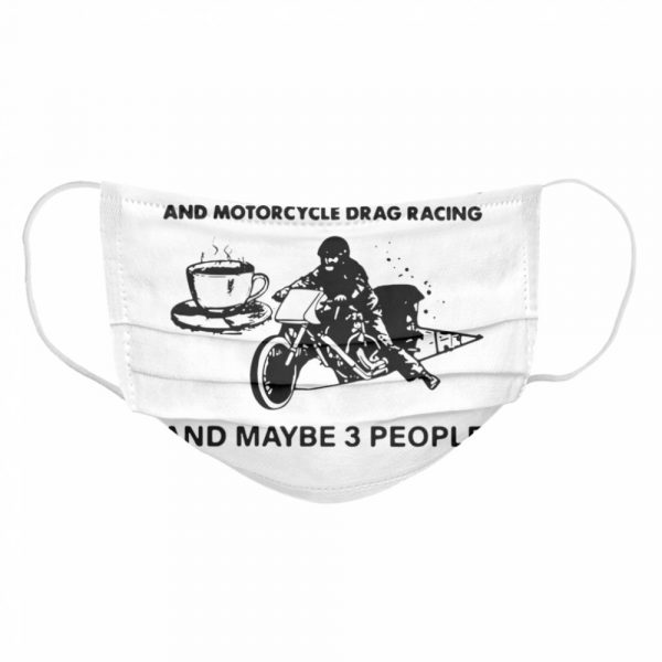 I Like Coffee And Motorcycle  Cloth Face Mask