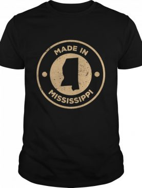 Proud Made In Mississippi Old Stamp Christmas shirt